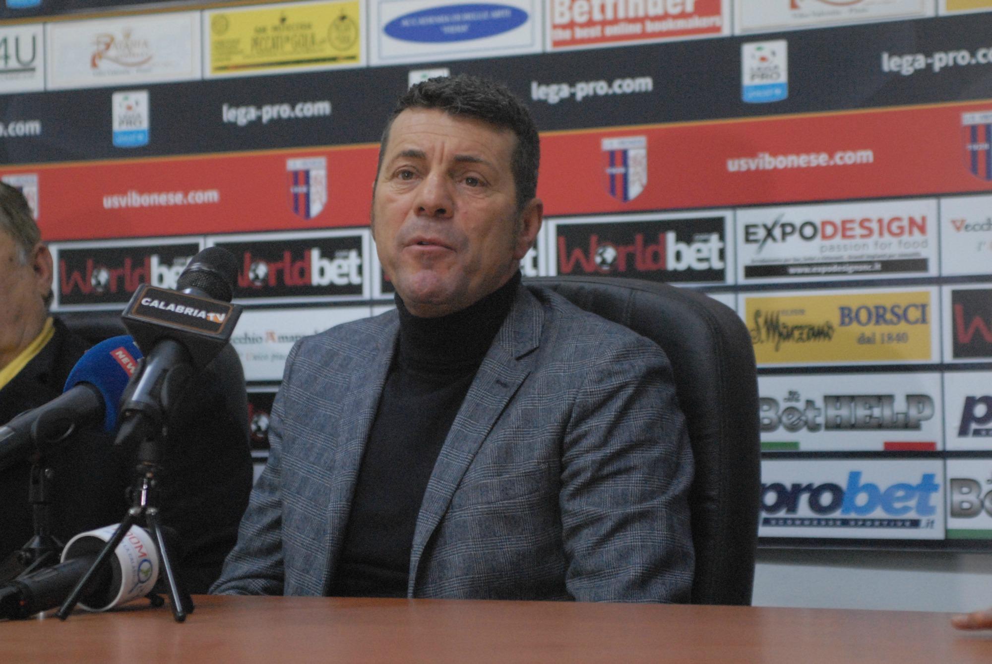 Salvatore Campilongo, neo allenatore della Vibonese