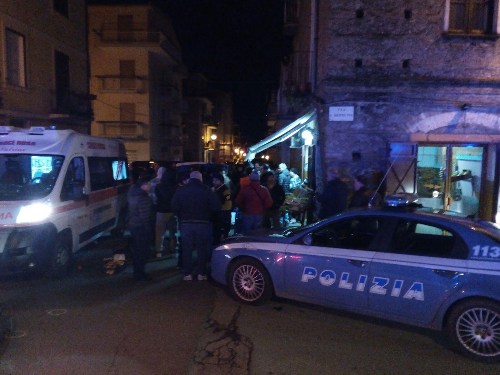 FOTO - Omicidio a Sambiase: ucciso Francesco Berlingieri