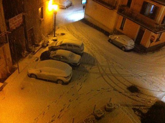 FOTO - Calabria sotto la neve, sui social è corsa alla foto panoramica