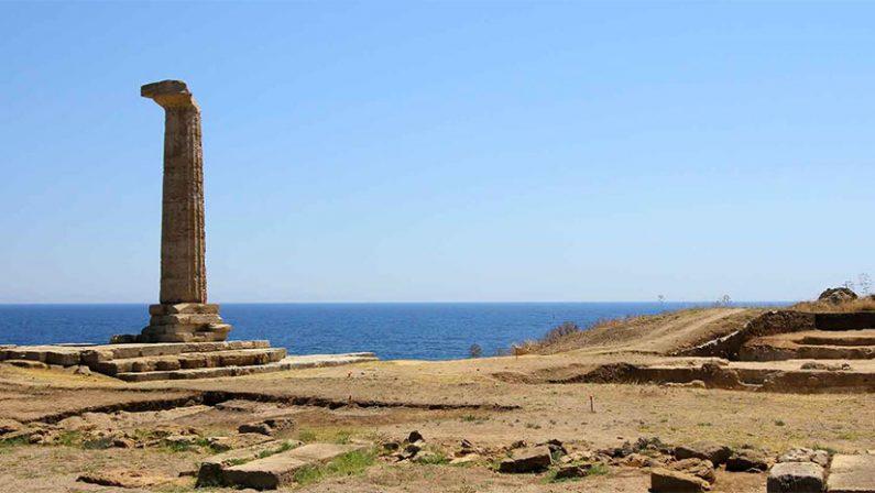 """Sgominata banda di """"tombaroli"""", bersaglio prediletto il sito archeologico di Capo Colonna a Crotone"""