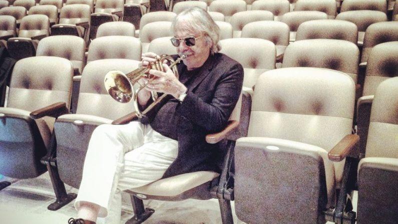Jazz, l'icona Enrico Rava a Matera in concerto con quattro giovani musicisti del Sud