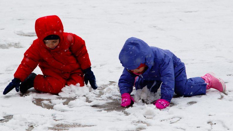 Il maltempo porta la neve oltre i 700-900 metri