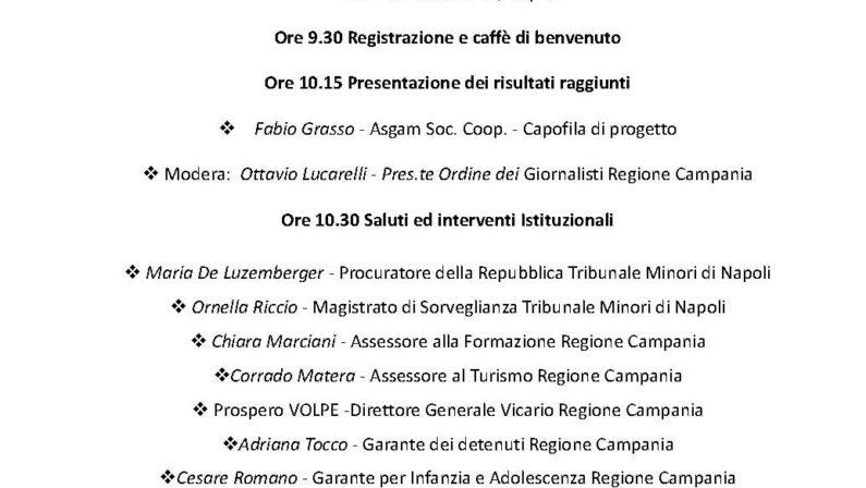 """Progetto """"Pescaturismo"""" con i ragazzi di Napoli"""