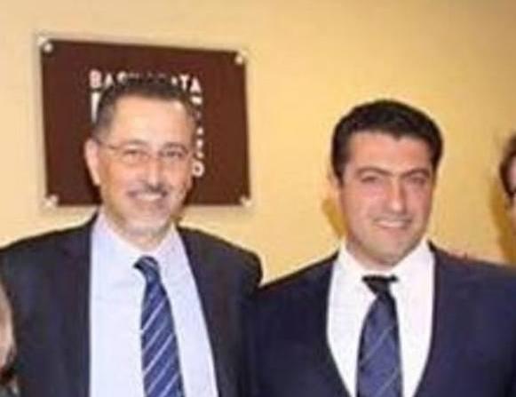 Marcello Pittella e Rosario Vizzari nel dicembre 2015 nel New Jersey