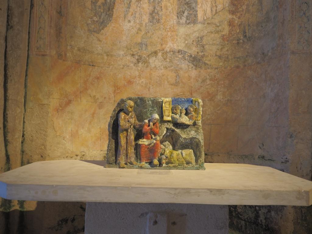 Le statue di Pietro Guida nelle chiese rupestri di Matera fanno il pieno di visitatori
