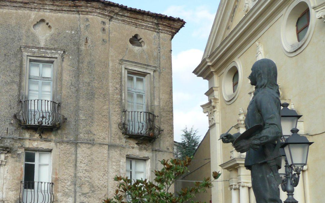 Chiesa di San Domenico e statua di Mattia Preti