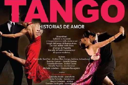 Il tango e la sua passione, spettacolo al Rendano di Cosenza