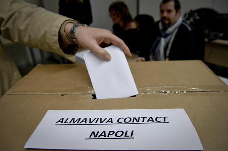 Referendum Almaviva, vince il sì