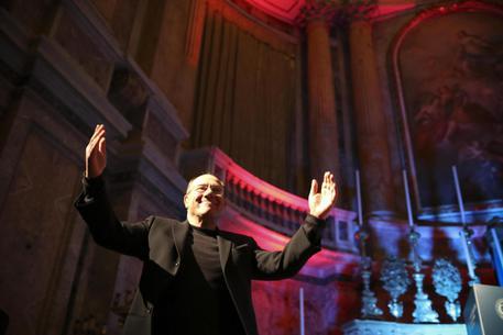Festa alla Reggia di Caserta per i 40 anni di carriera di Carlo Verdone