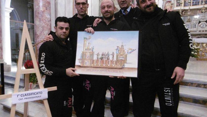 Matera, ispirato agli Atti degli Apostoli il bozzetto del carro trionfale della Bruna