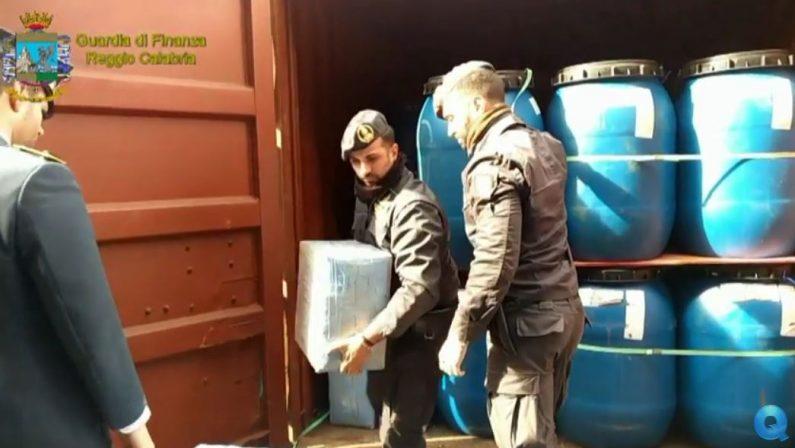 Borsoni colmi di cocaina trovati nel container del cafféNuovo sequestro di droga nel porto di Gioia Tauro