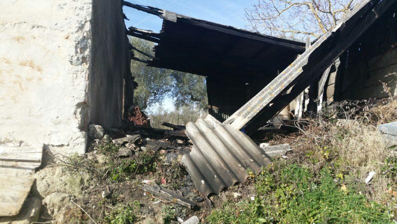 Prima gli distruggono le serre poi incendiano il depositoIntimidazione ai danni di un imprenditore vibonese