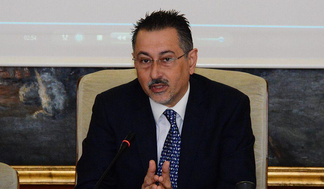 Il governatore lucano Marcello Pittella