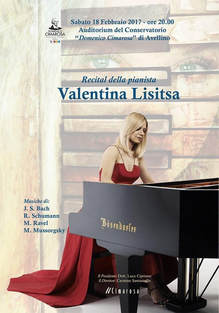 Avellino,al «Cimarosa» arriva la pianista ucraina Valentina Lisitsa