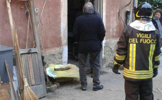 Deflagrazione da fuga di gas a Villanova del Battista: grave un anziano