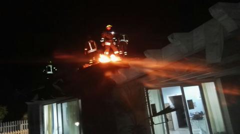 L'incendio alla struttura di Gizzeria