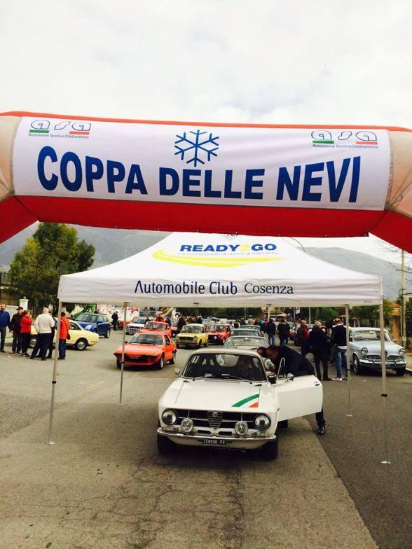 Automobilismo, la Coppa delle Nevi nel Parco nazionale del Pollino