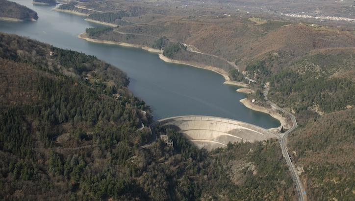 Nelle dighe lucane c'è poca acqua: meno244 milioni di metri cubi rispetto al 2017