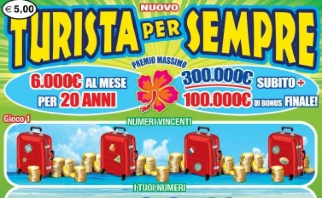 Gratta e Vinci, la Calabria baciata dalla fortunaVincita nel Cosentino. In un anno 21 milioni di euro