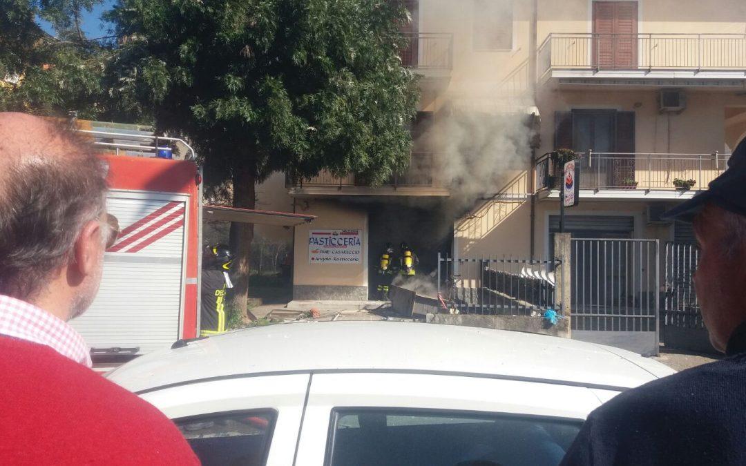 La pasticceria dove si è verificata l'esplosione