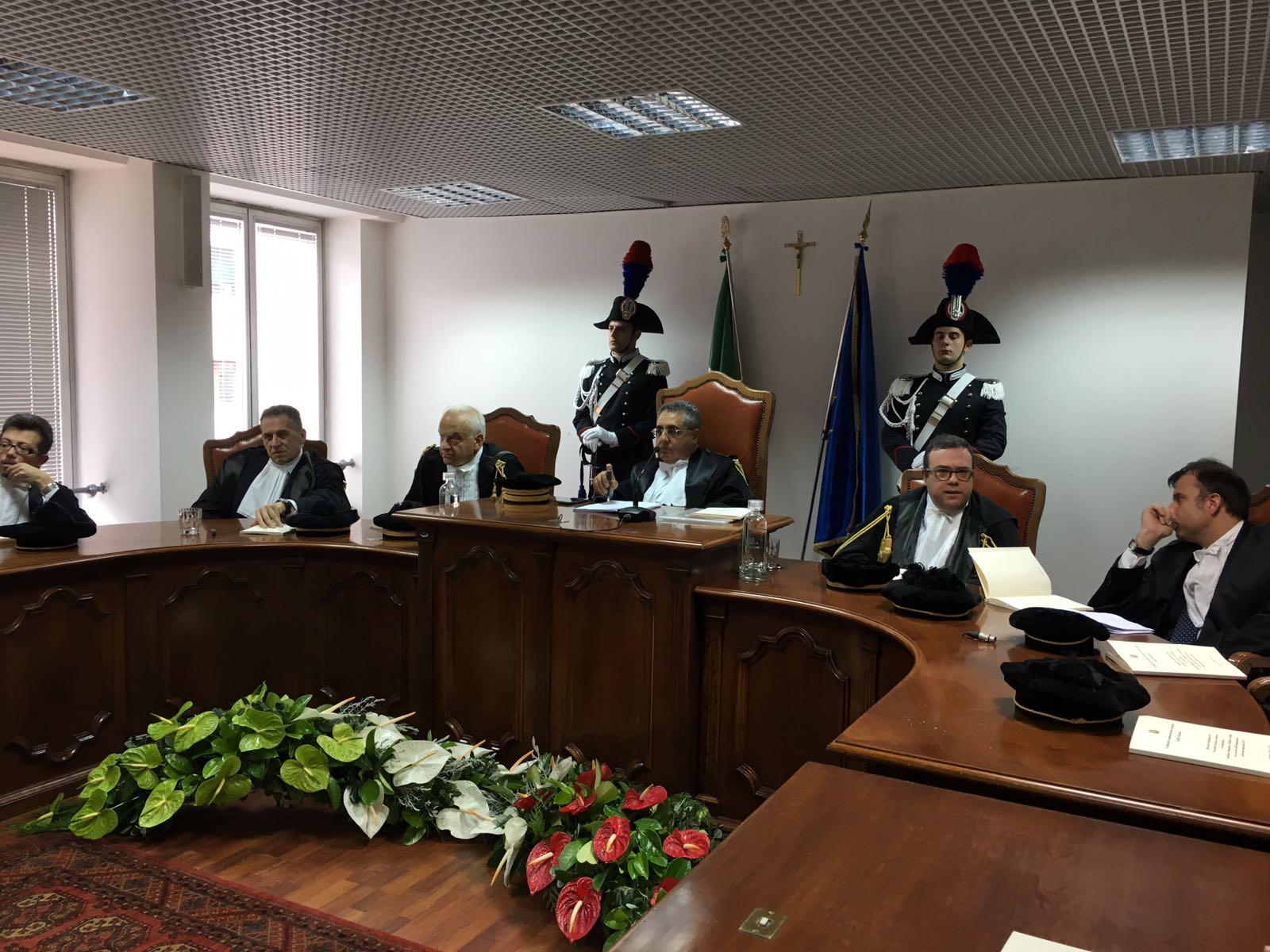 Tar Calabria, inaugurato il nuovo anno giudiziarioPiù ricorsi su appalti, sanità e interdittive antimafia