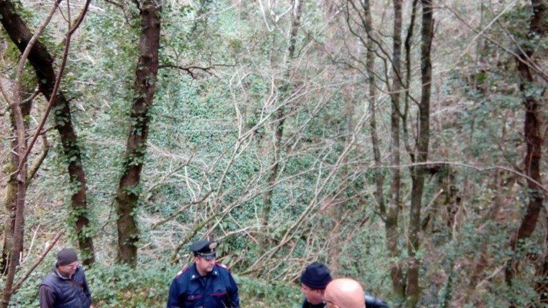 FOTO – Ritrovato morto l'uomo scomparso   Tragedia in una zona di montagna del Vibonese