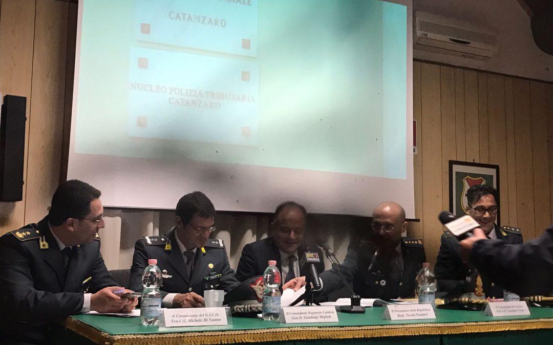 'Ndrangheta, l'antimafia sequestra beni a Crotone  Posti i sigilli a beni per oltre 350 milioni di euro