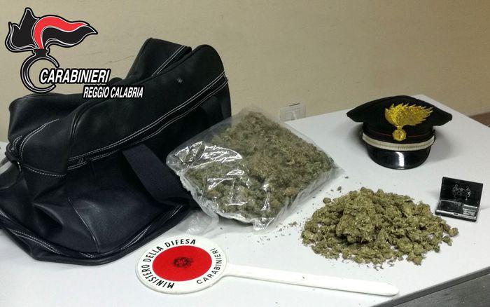 Trovato in possesso di mezzo chilo di drogaArrestato un 34enne a Reggio Calabria