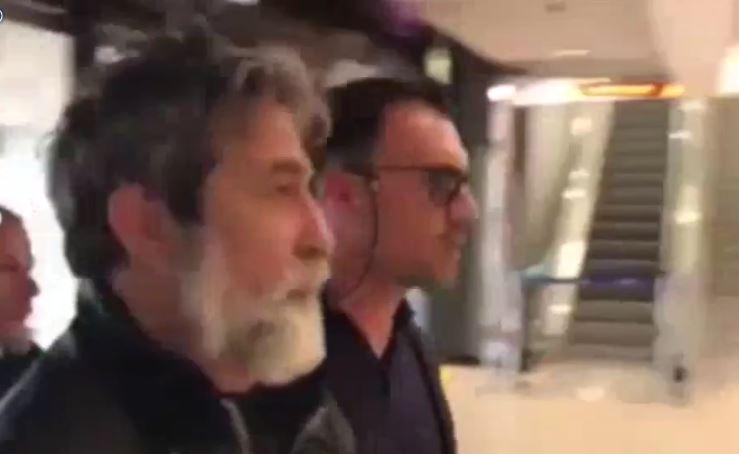 VIDEO - L'arrivo in aeroporto di Leo CaridiIl latitante era ricercato da 4 anni