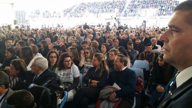 VIDEO - Locri, giornata dedicata a vittime della mafiaLa lettura dei nomi davanti al Presidente Mattarella