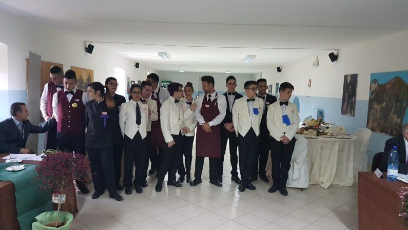 FOTO - La prova del Master sala eseguitadagli alunni dell'istituto Mancini di Cosenza