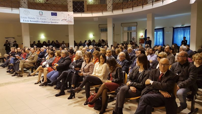 FOTO - La visita del ministro dell'istruzione Valeria Fedelia Catanzaro Lido sulla Buona Scuola