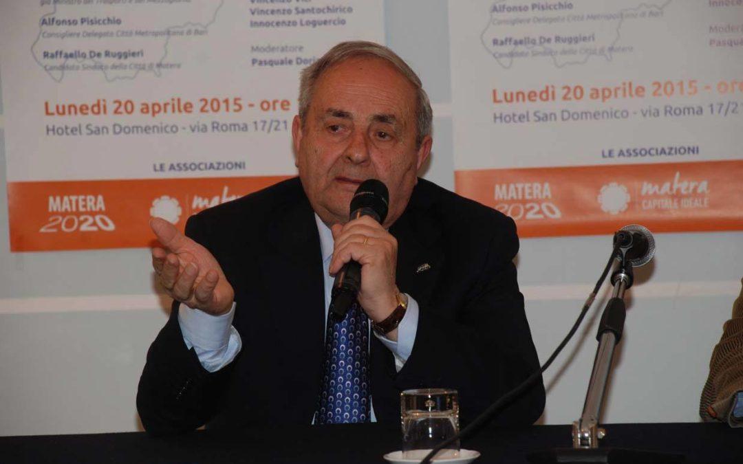 Matera, il sindaco De Ruggieri ha azzerato la Giunta