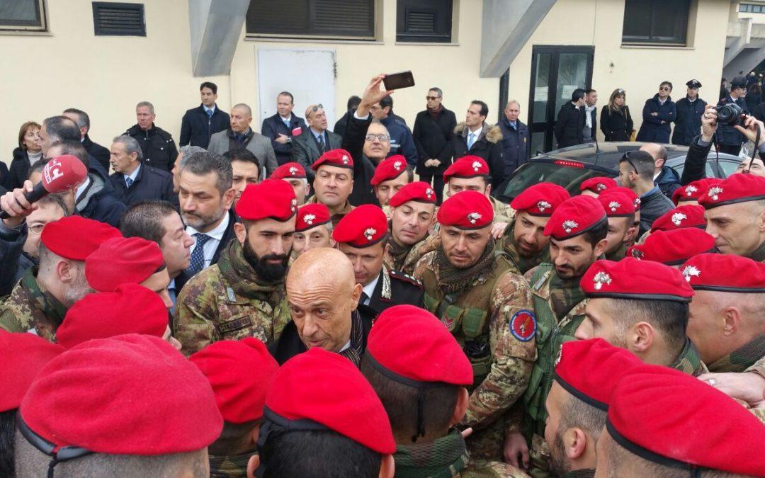FOTO – Nasce il 14esimo battaglione Carabinieri  La cerimonia alla presenza del ministro Minniti
