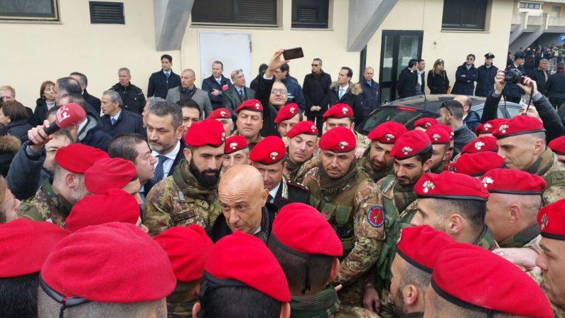 FOTO - Nasce il 14esimo battaglione CarabinieriLa cerimonia alla presenza dei ministri Minniti e Pinotti