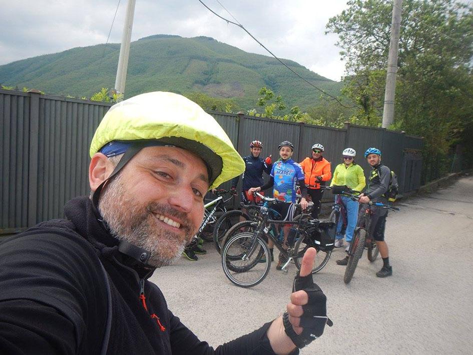 """In bici alla scoperta del Vallo di Lauro con """"Fiab"""", """"Libera"""" e """"Maglificio100Quindici Passi"""""""