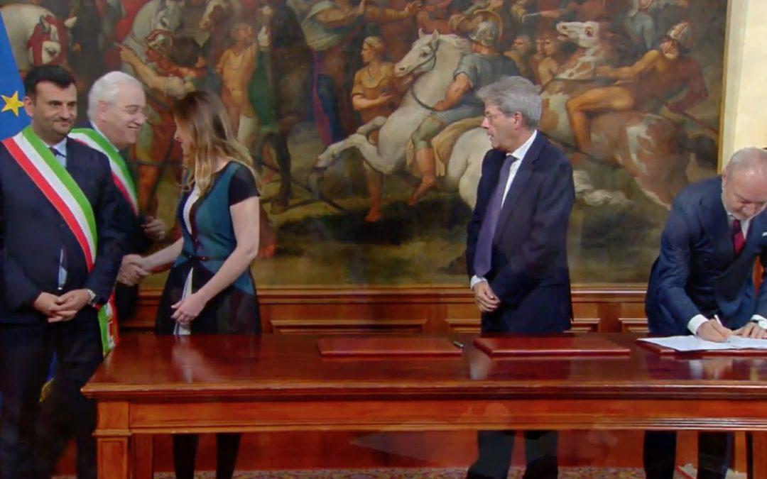 Fondi periferie, il sindaco di Avellino ricevuto da Gentiloni