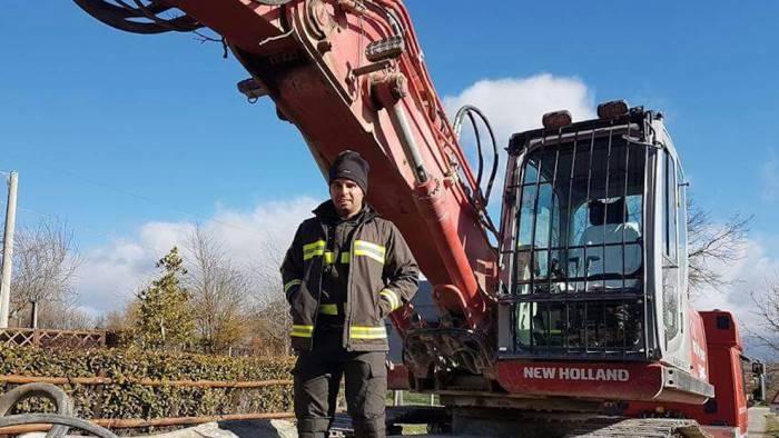 Vigile del fuoco irpino folgorato ad Amatrice