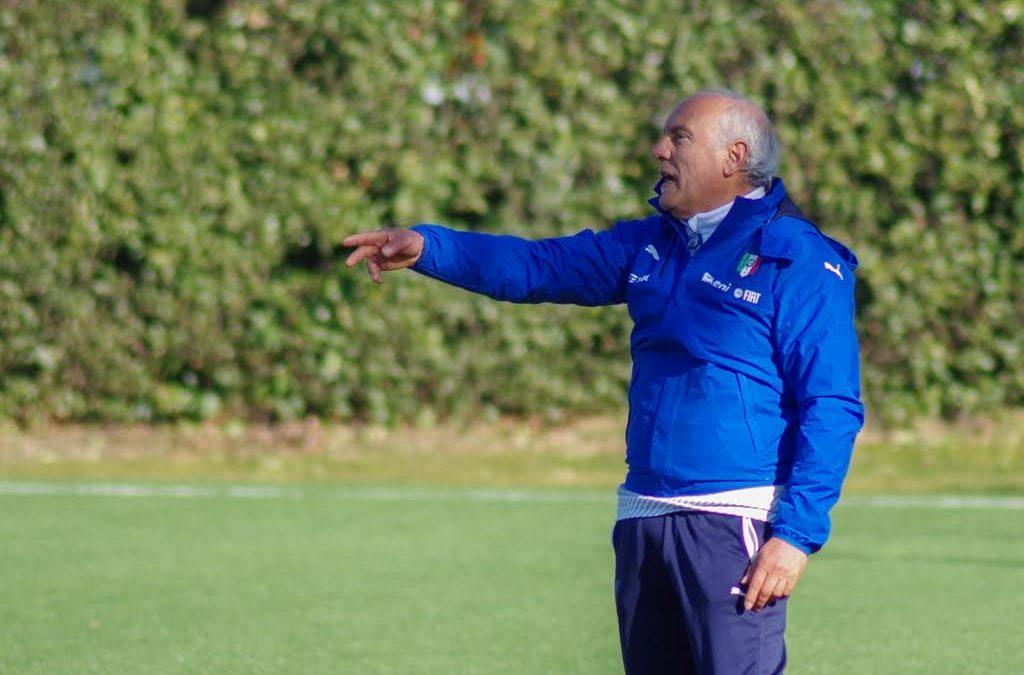 Antonio Rocca, selezionatore della Nazionale italiana under 15