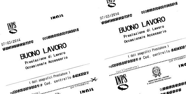 Voucher e occupazione, l'Italia li abbandonaLa Calabria dice addio con un boom di consumi