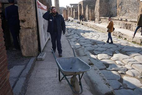 Crollo nella domus a Pompei: cause naturali