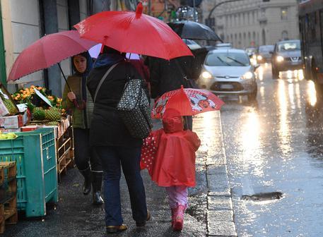Campania, allerta meteo nelle zone interne