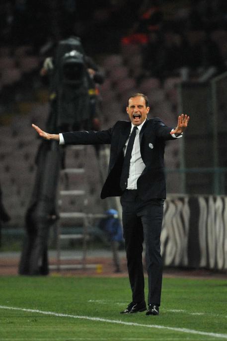 """Allegri: """"Terza finale di coppa Italia? Bene"""""""