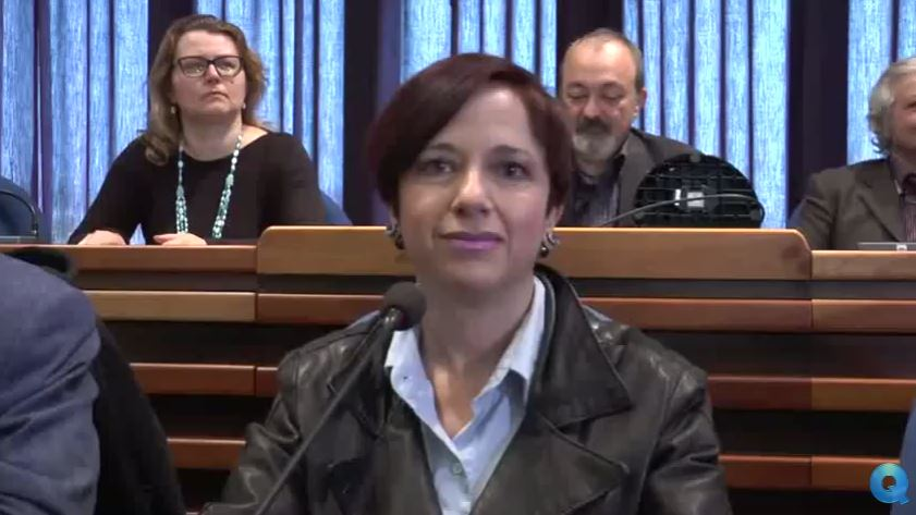 VIDEO – Il Movimento Cinquestelle presenta programma  Le parole dell'aspirante sindaco Bianca Laura Granato