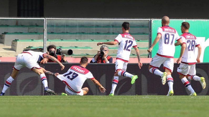 Serie A, il Crotone si ripete contro il Chievo  Prima vittoria esterna e speranze riaccese