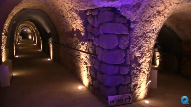 Riaprono al pubblico le gallerie del San GiovanniCatanzaro riscopre il suo cuore sotterraneo
