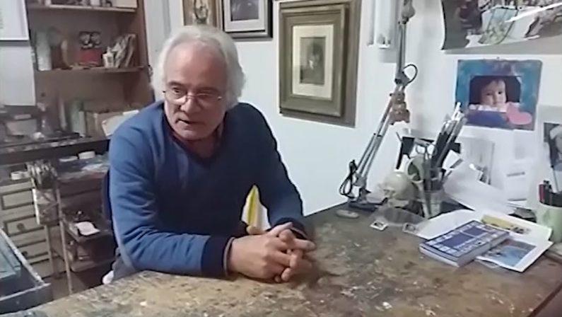 """Il museo di Acri ospita """"Una storia della memoria""""  La personale del pittore Giovan Battista Rotella"""
