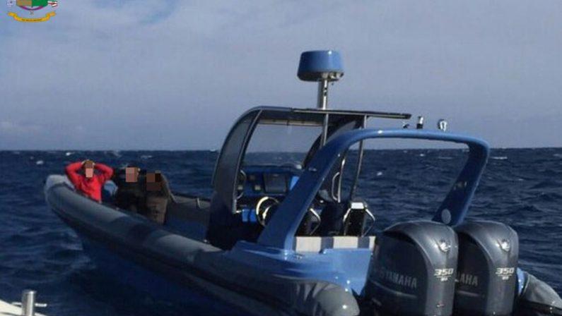 VIDEO - Operazione internazionale con inseguimento in mareSette persone arrestate e sequestrata droga per 10 milioni