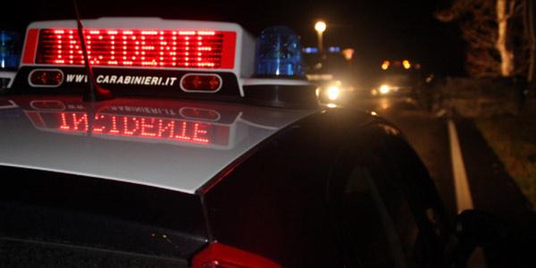 Tragedia a Cosenza, incidente stradale nella notte: muore un giovane