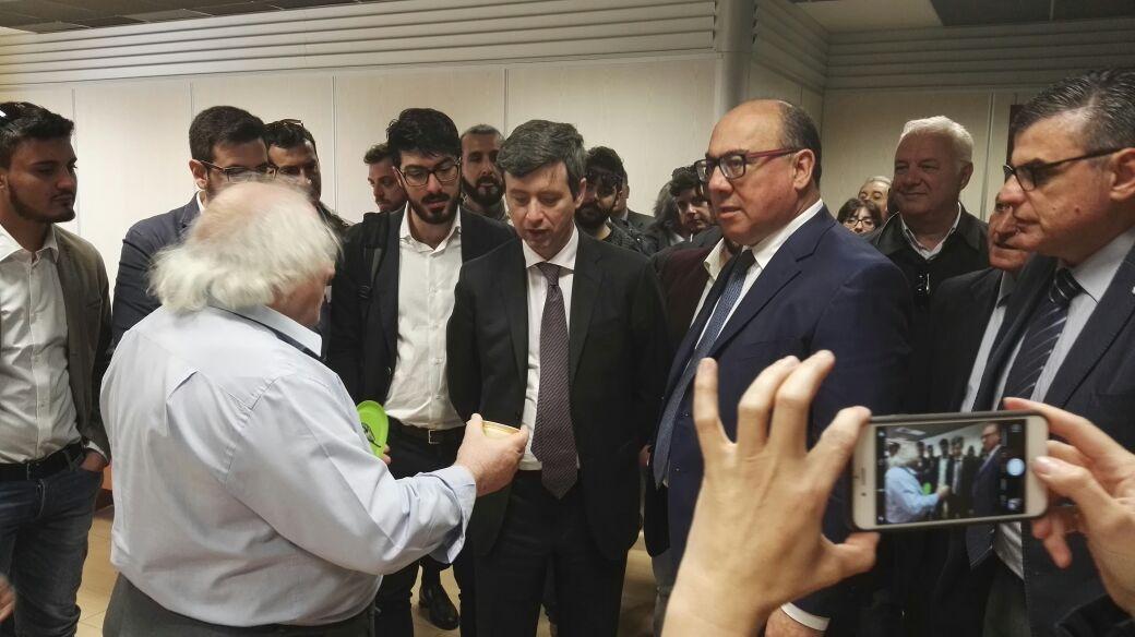 FOTO - La visita del Ministro Andrea OrlandoL'incontro all'Unical con studenti e personale